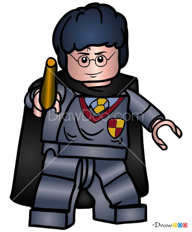 How to Draw Harry Potter, Lego Harry Potter