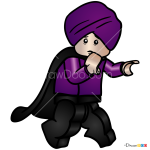 How to Draw Quirinus Quirrell, Lego Harry Potter