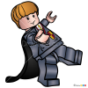 How to Draw Ronald Weasley, Lego Harry Potter