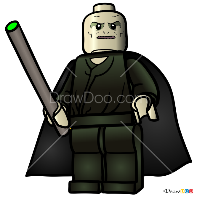 How to Draw Voldemort, Lego Harry Potter