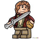 How to Draw Bilbo, Lego Hobbit