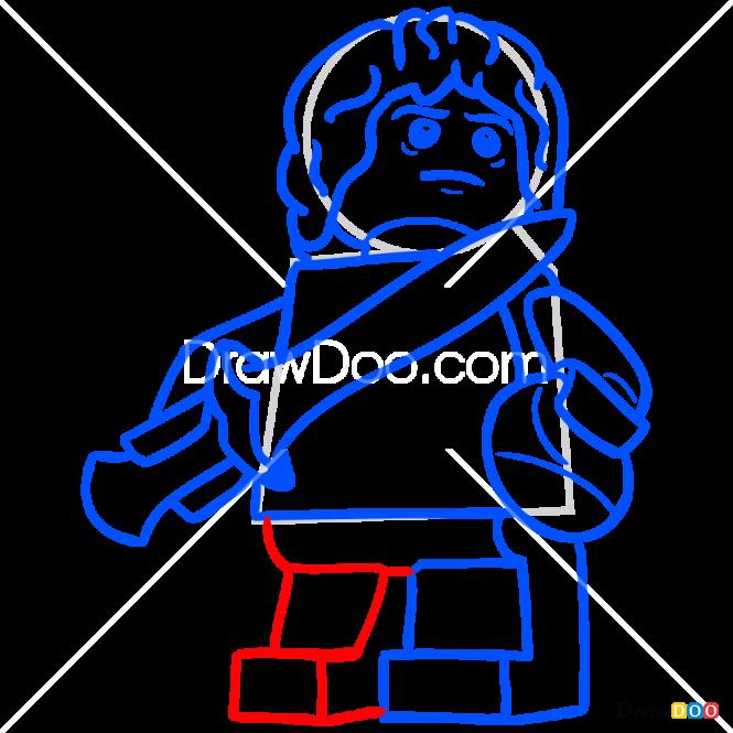 How to Draw Bilbo, Lego Hobbit