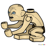How to Draw Gollum, Lego Hobbit