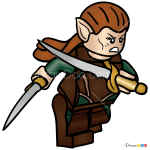 How to Draw Tauriel, Lego Hobbit