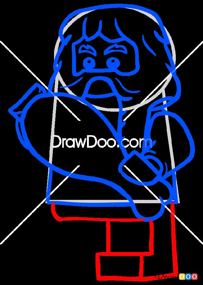 How to Draw Bombur, Lego Hobbit