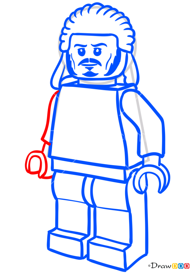 How to Draw Bard, Lego Hobbit
