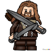How to Draw Fili, Lego Hobbit
