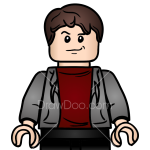 How to Draw Zack Mitchell, Lego Jurassic World