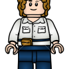 How to Draw Gray Mitchell, Lego Jurassic World