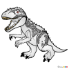 How to Draw Indominus Rex, Lego Jurassic World
