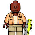 How to Draw Barry, Lego Jurassic World