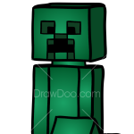 How to Draw Creeper, Lego Minecraft