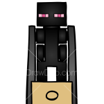 How to Draw Enderman, Lego Minecraft