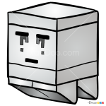 How to Draw Ghast, Lego Minecraft