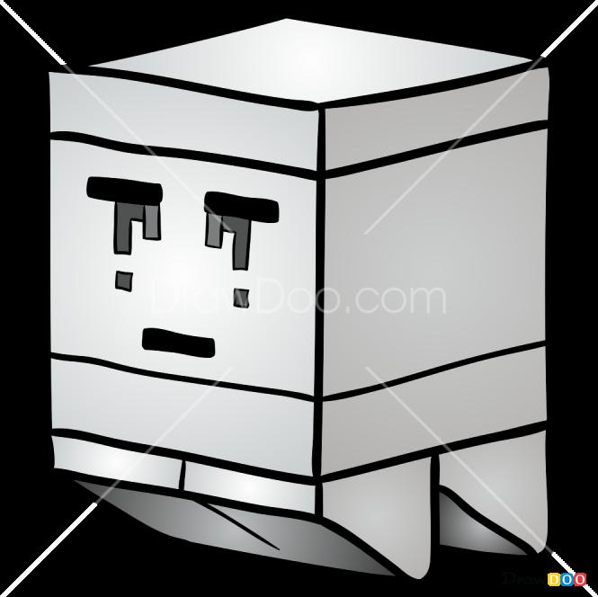 How to Draw Ghast, Lego Minecraft