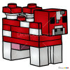 How to Draw Mooshroom, Lego Minecraft