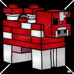 How to Draw Mooshroom, Lego Minecraft