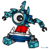 How to Draw Krog, Lego Mixels