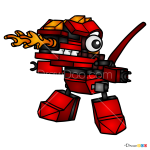 How to Draw Meltus, Lego Mixels
