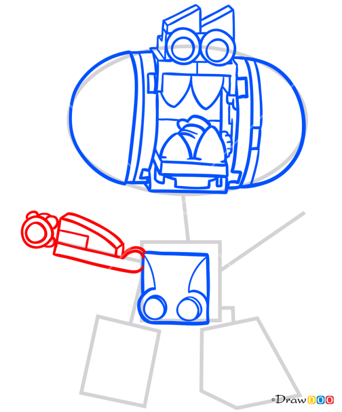 How to Draw Snax, Lego Mixels