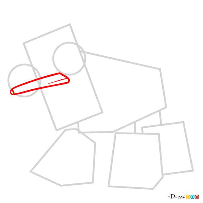 How to Draw Spugg, Lego Mixels