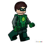 How to Draw Green Lantern, Lego Movie