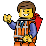 How to Draw Emmet, Lego Movie