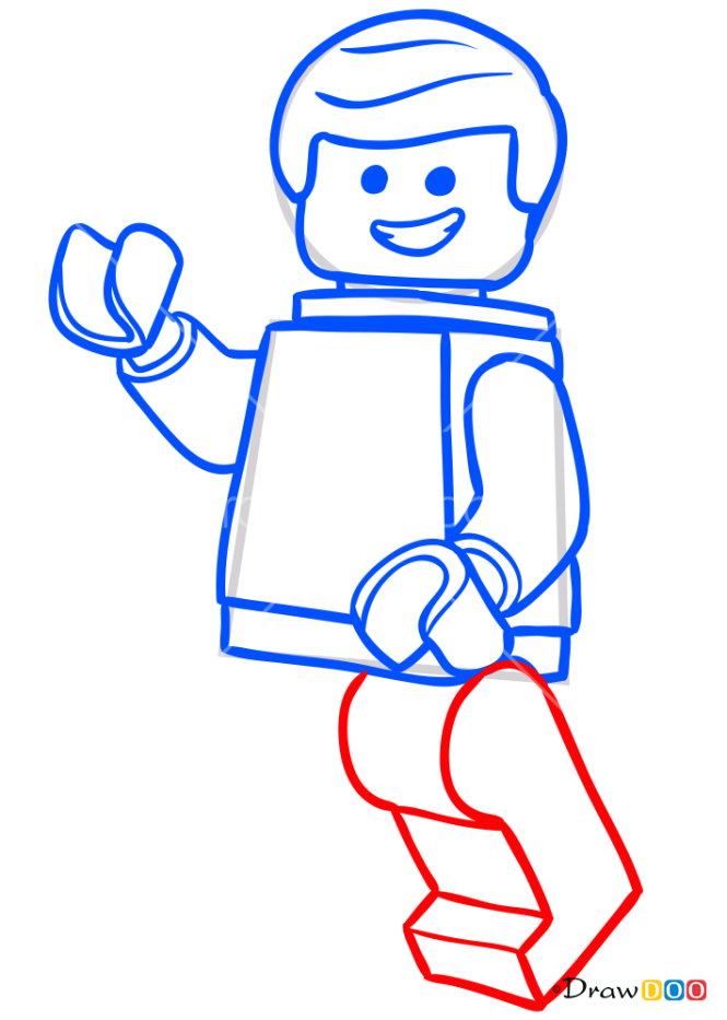 How to Draw Emmet, Lego Movie