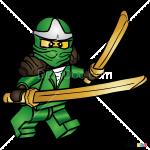 How to Draw Green Ninja, Lego Movie