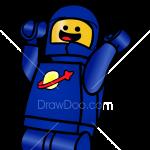How to Draw Benny, Lego Movie