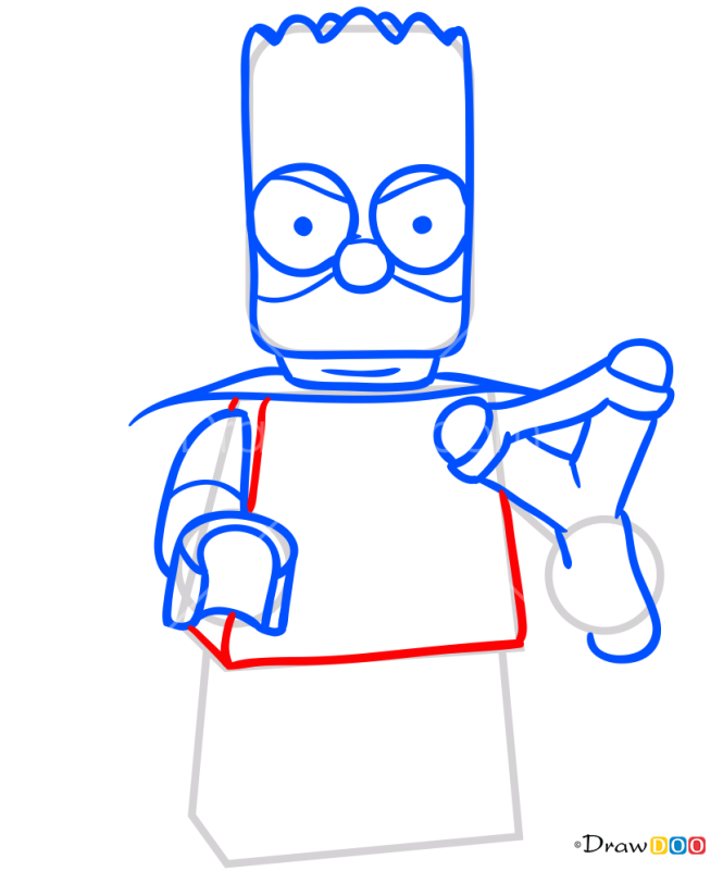 How to Draw Bart Simpson 2, Lego Simpsons