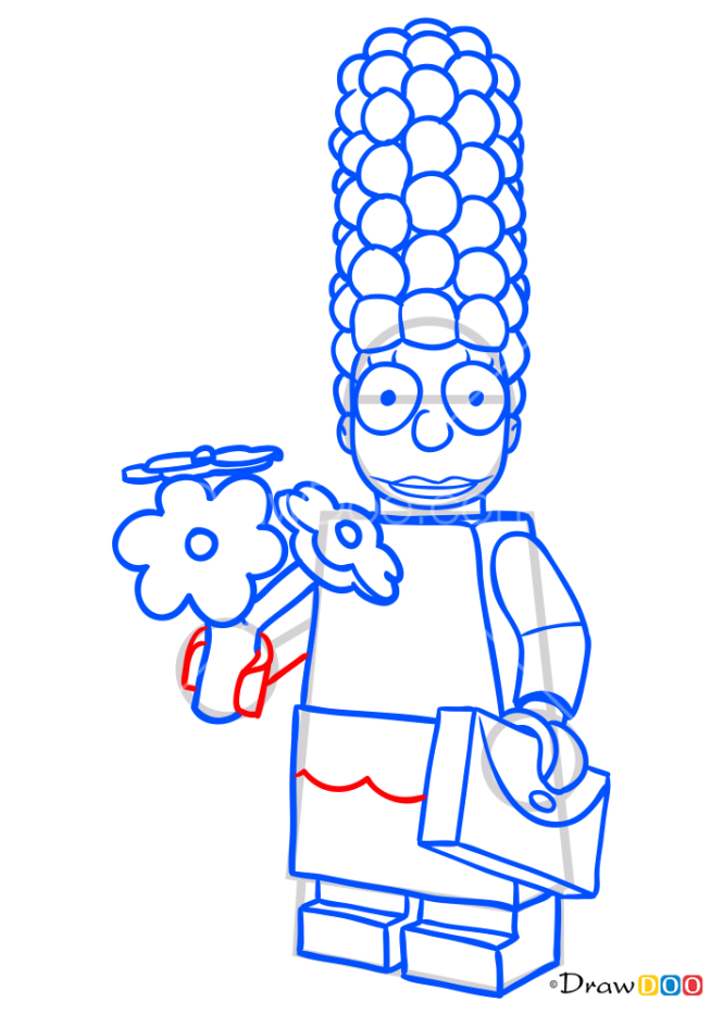 How to Draw Marge Simpson, Lego Simpsons