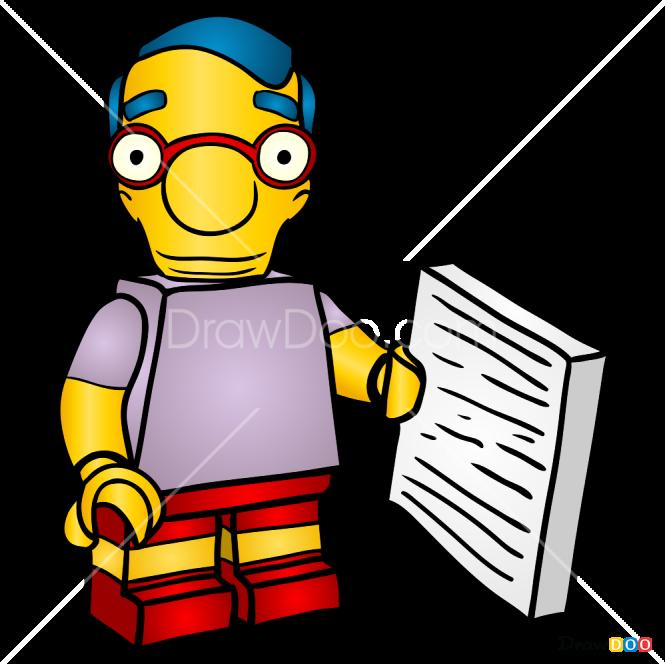 How to Draw Milhouse, Lego Simpsons