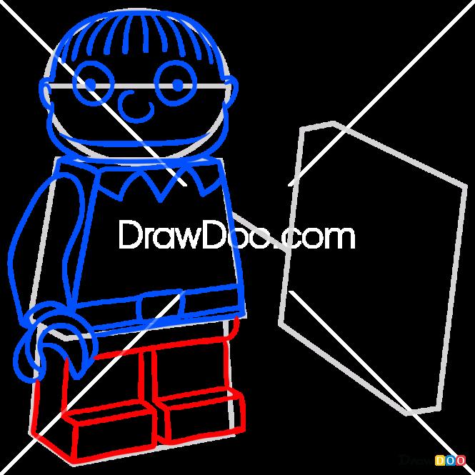 How to Draw Ralph Wiggum, Lego Simpsons
