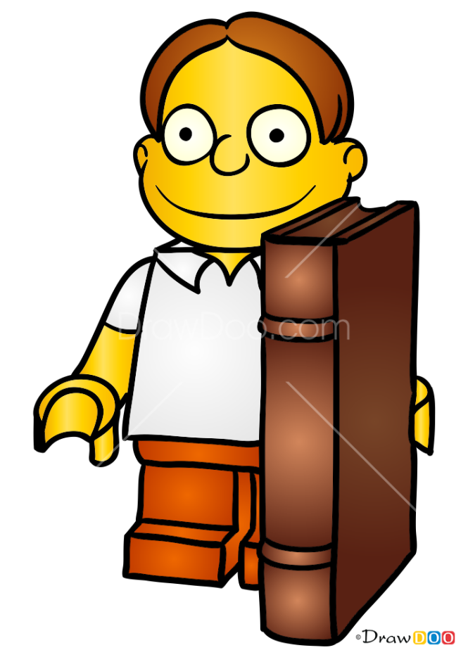 How to Draw Martin, Lego Simpsons