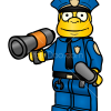 How to Draw Chief Wiggum, Lego Simpsons