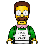 How to Draw Ned Flanders, Lego Simpsons