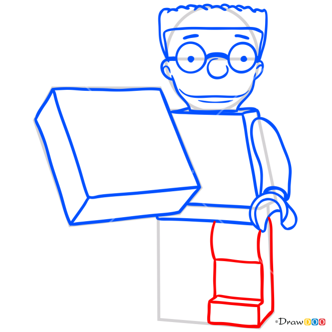 How to Draw Smithers, Lego Simpsons
