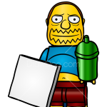 How to Draw Comic Book Guy, Lego Simpsons