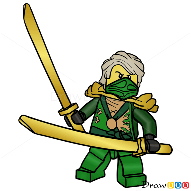 How To Draw Lloyd Lego Ninjago