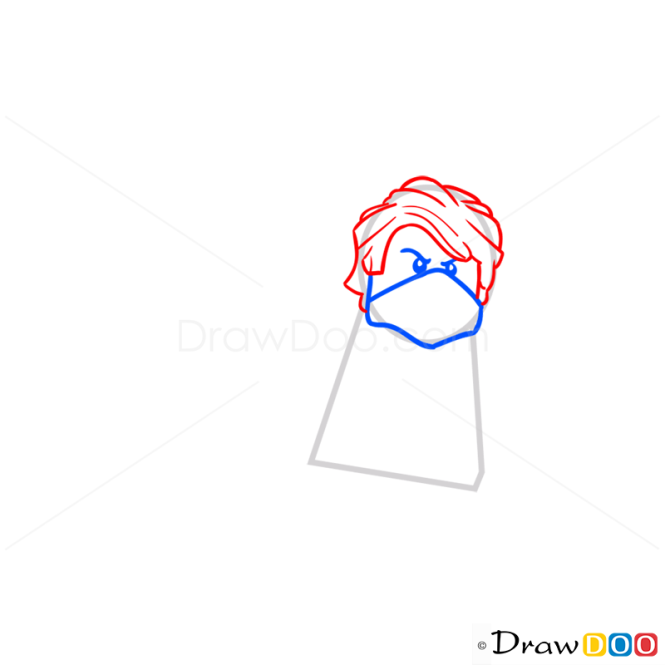 How to Draw Lloyd, Lego Ninjago