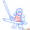 How to Draw Lloyd, Lego Ninjago