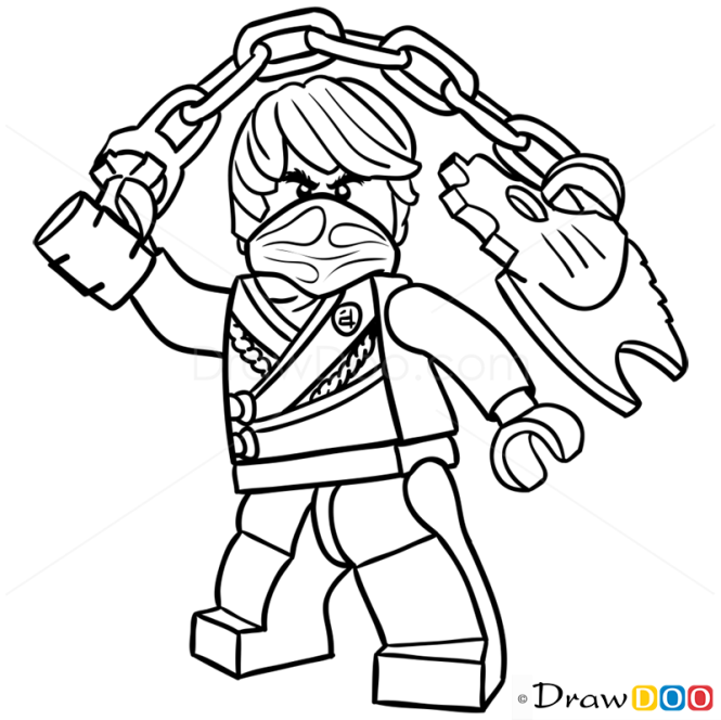 ninjago elemental master coloring pages - photo#15