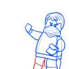 How to Draw Jay, Lego Ninjago