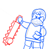 How to Draw Jay, Lego Ninjago