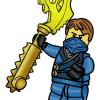 how to draw lego ninjago lloyd