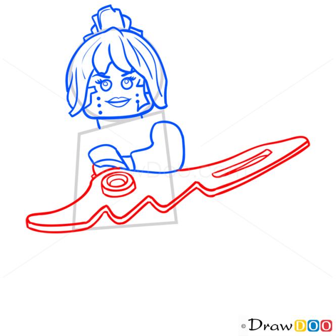 how to draw lego ninjago