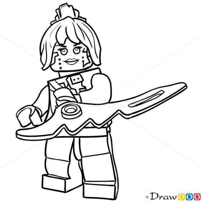 How To Draw P I X A L Lego Ninjago