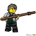 How to Draw Sensei Garmadon, Lego Ninjago