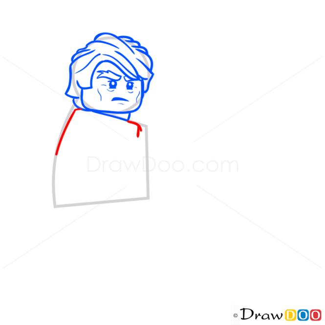 How to Draw Sensei Garmadon, Lego Ninjago